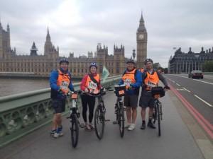 The Brotherhood on Westminster Bridge